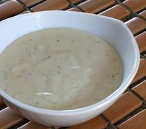 "Cream Soup Base: ""Until food companies finally begin to use BPA (Bisphenol A) free cans, prepare your cream soups from scratch and use fresh and frozen vegetables. Make this simple cream soup base to use in your main dish and side dish casseroles instead of condensed cream soups. Feel free to add chopped cooked mushrooms or herbs to this soup base for different flavors."""