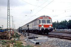 Der Vorgänger des heutigen Express-S-Bahn Konzepts: Die S25. Ohne Halt zwischen Olympiastadion und Ostbahnhof. München Daglfing, 11. September 1972. (© Paul Müller)