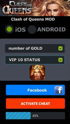 How to get gold and VIP 10 for Clash of Queens? Our new fantastic Clash…