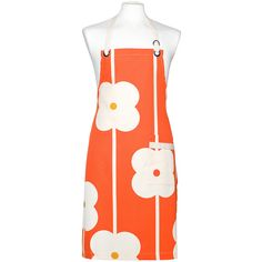 Orla Kiely Abacus Flower Apron ($38) ❤ liked on Polyvore