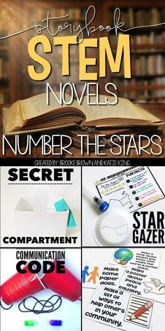 STEM and Language Arts lessons to supplement Number the Stars by Lois Lowry.  STEM Challenges | Third Grade, Fourth Grade, Fifth Grade | Storybook STEM Novels