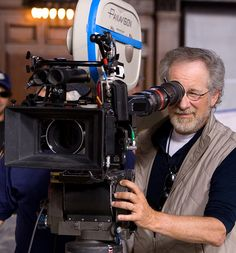 steven spielberg. I want that camera.