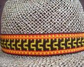 Inkle woven hatbands