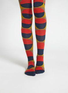 Länsi tights (navy, red, olive) | Accessories, Socks & Stockings, Bags & Accessories | Marimekko