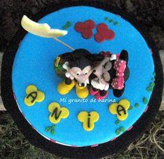 Mi granito de harina: Tarta de Mickey y Minnie