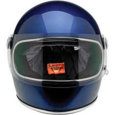 GRINGO S HELMET - GLOSS METALLIC NAVY