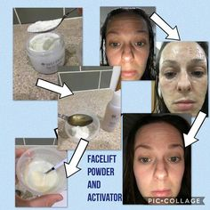 Facelift powder and Activator Healthy Skin Care, Anti Aging Skin Care, Beauty Skin, How To Make Money, Nu Skin, Bottle, Face Products, Powder, Spa