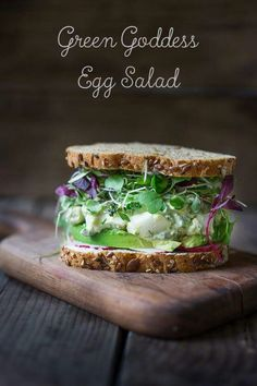 Green Goddess Egg Salad