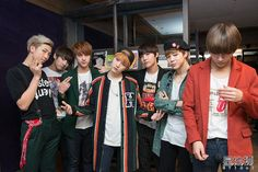 ET Idol posted photos #BTS in Taiwan, March 2015