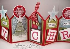 Day Five with Sharon Johnson - JustRite Accordion Tags | JustRite Papercraft Inspiration Blog
