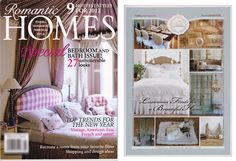 Romantic Homes, January 2012 Issue! Cottage Style Decor, Romantic Homes, Toddler Bed, January, Bedroom, Furniture, Design, Home Decor, Child Bed