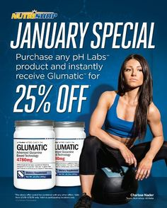 All month long receive 25% off Glumatic with the purchase of any pHLabs product! Glumatic is an advanced glutamine based supplement featuring GlutaZorb Sustamine and amino acids! #glumatic #phlabs #nutrishopschererville #nutrishop #supplements #supps #protein #preworkout #lakecentral #lakecentralhighschool #charterfitness #anytimefitnessschererville #worldgymcedarlake #worldgymschererville #planetfitnessschererville #corralsmartialarts #crossfit #mma #bodybuilding #recovery by…