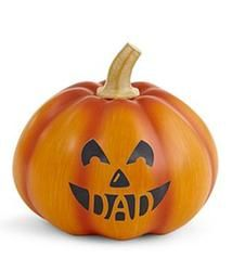 Personalized Small Cut Out Mouth Pumpkin