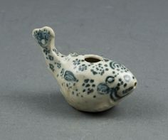 Miniature Water Dropper in the Shape of a Blowfish, 15th century. Vietnam. The Art Institute of Chicago