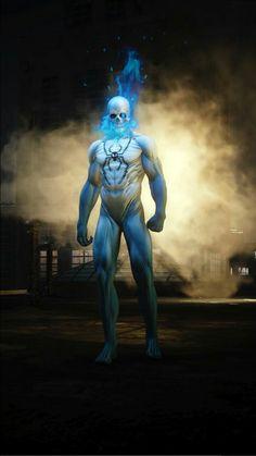 Spiderman Art, Amazing Spiderman, Marvel Heroes, Marvel Comics, Spider Man Unlimited, Ghost Rider Pictures, Beautiful Dark Art, Sugar Skull Art, Hindu Deities