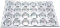 Winco AMF-24 24-Cup Non-stick Muffin and Cupcake Pan, Aluminum >> Sensational bargains just a click away : Baking pans