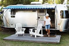 guest house on wheels-  for those coming to me...or me coming to them!