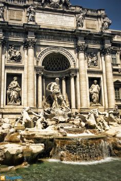 Visit Rome for its breathtaking beauty and unrivaled history. #Italy #Rome #TreviFfountain