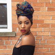 Gorgeous head wrap