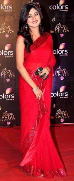 Falak Naaz at the third edition of the Colors Golden Petal Awards.