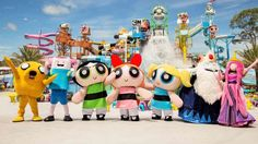 Cartoon Network Amazone water park is a fun day out for the kids and adults with exhilarating high speed water slides and rides, a large wave pool, a winding river, an aqua playground for smaller children, entertainment and plenty of food options.