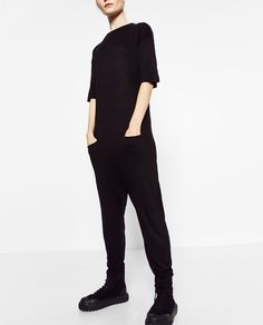 ZARA - WOMAN - LOW RISE JUMPSUIT