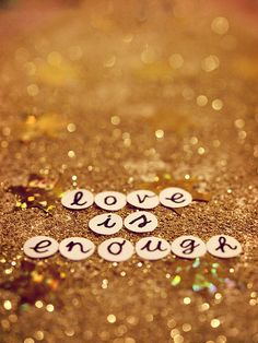 love + glitter!