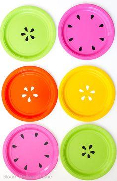 Easy DIY Fruit Plates by Bloom Designs