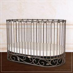 j'adore crib-cradle pewter