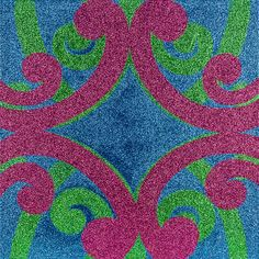 Reuben Patterson, this is glitter. I like how a composition of korus like this could frame a circle in the centre Maori Patterns, Maori Art, Painting Patterns, Painting Inspiration, New Zealand, Nativity, Arts And Crafts, Kids Rugs, Culture