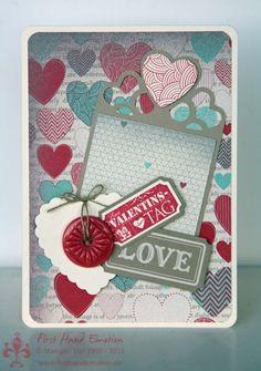 First Hand Emotion: IN{K}SPIRATION_Weeks Day Stampin' UP! Valentine's Card