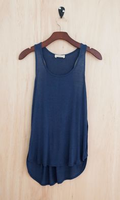 Soft Like a Cloud Tank, Navy