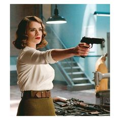 backwards & in high heels ❤ liked on Polyvore featuring hayley atwell