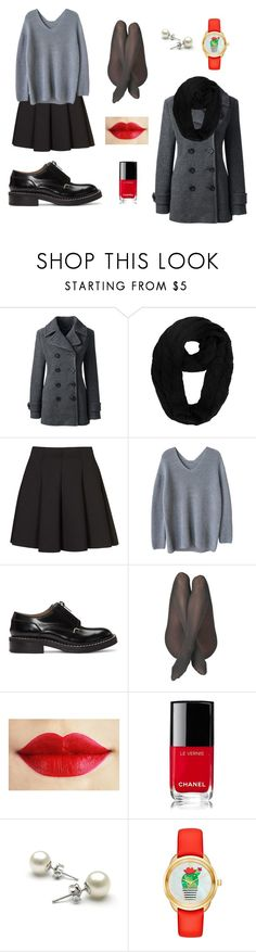 Sin título #4 by sol-quinteros on Polyvore featuring moda, Lands' End, Topshop, rag & bone, Kate Spade and Chanel