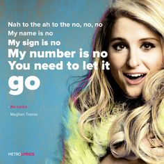 Meghan Trainor - No Lyrics #MeghanTrainor #No #Lyrics