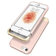 iPhone SE Case, Spigen® [Style Armor] SOFT-Interior [Rose Gold] Scratch Protection Metallic Finished Base Trendy Slim Case for Apple iPhone 5 / 5s / iPhone SE (2016) - 041CS20180:Amazon