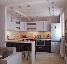 гостиная совмещенная с кухней в хрущевке фото: 14 тыс изображений найдено в Яндекс.Картинках