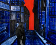 Title: Drawing Nearer Type: Expressionism Medium: Oil On Canvas Artist: Joseph Minton Year: 2007 I think that this painting interests me because of the feeling that seems to be looking into the future for the character
