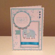 Baby card x