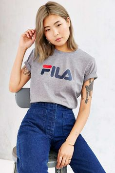FILA Miss Eagle Logo Tee - Urban Outfitters