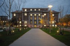 Slocum Hall, Syracuse University, where the College of Human Development was located when I was at SU.