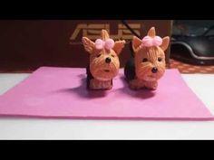 Pap do palhacinho fofinho em biscuit - vi biscuit - YouTube