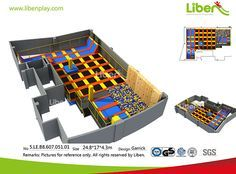 Trampoline Park Made in China