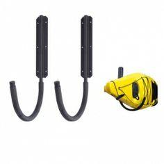 Wall-mounted Kayak Storage Arms