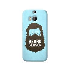 Beard Season HTC One M8 Case from Cyankart