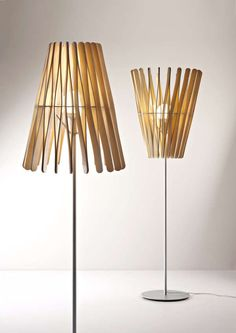 Tongue Depressor-Like Lighting : Stick Lamp Collection