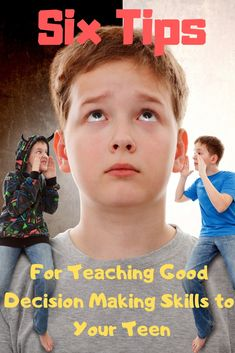 Six Tips For Teaching Good Decision Making Skills To Your Teen - Do you have a teen making poor choices? Is your teen making bad choices and not thinking things th - Raising Teenagers, Parenting Teenagers, Parenting Memes, Parenting Books, Good Parenting, Single Parenting, Parenting Styles, Foster Parenting, Troubled Teens