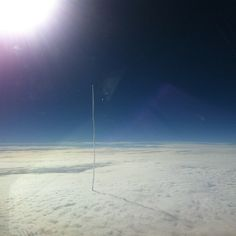 Airline pilot captures the launch of the MUOS-2 satellite