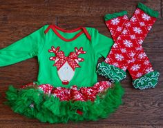 Baby Reindeer Christmas Tutu Outfit with by babyOclothing on Etsy Christmas Tutu, Girls Christmas Outfits, Reindeer Christmas, Christmas Sweaters, Tutu Outfits, Girl Outfits, Cute Shirts, Baby, Clothes