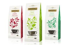 Twinings Tea had a problem and Believe Branding definitely came up with a wonderful design solution. The gold foil on the logo brings a unique stand out to the brand and the name Twinings and elevates the package design. Cool Packaging, Beverage Packaging, Coffee Packaging, Brand Packaging, Product Packaging, Packaging Ideas, Tea Packing Design, Twinings Tea, Tea Brands